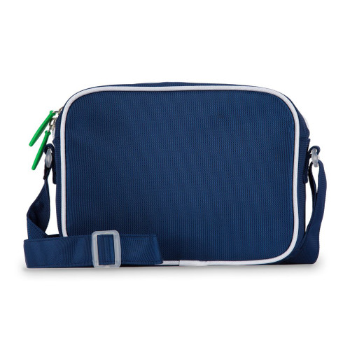 Ame & Lulu Navy and Green Crossbody Bag