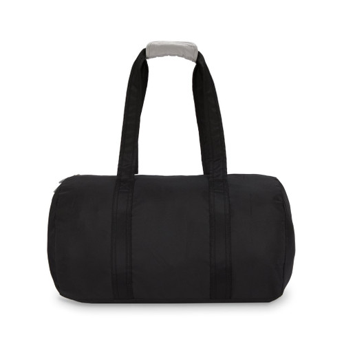 Ame & Lulu Black and Grey Duffel Bag