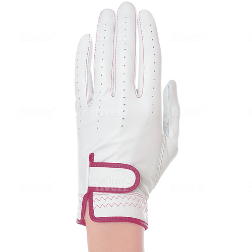 Nailed Luxury Fuschia Golf Glove (Standard Sizing)