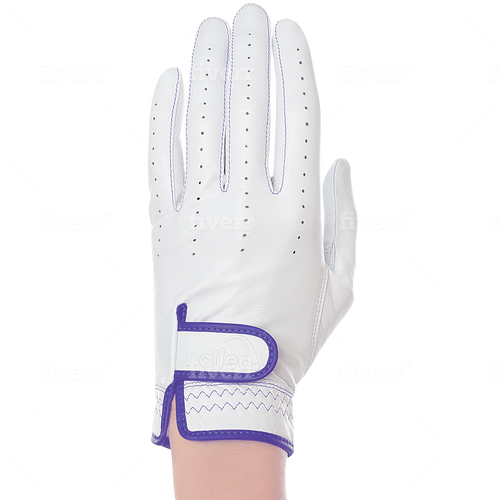 Nailed Luxury Lilac Golf Glove (Standard Sizing)