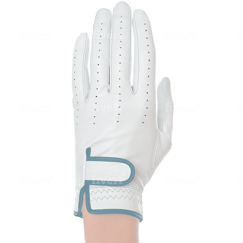Nailed Luxury Sky Blue Golf Glove (Standard Sizing)