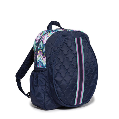 cinda b Midnight Calypso Tennis Backpack
