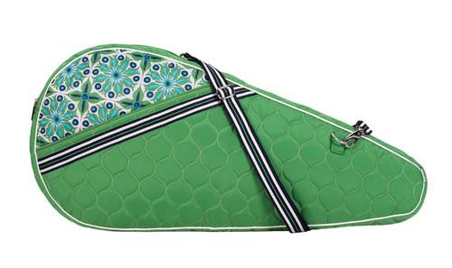cinda b Verde Bonita Tennis Racquet Sleeve