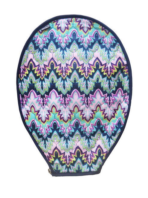 cinda b Midnight Calypso Tennis Racquet Cover