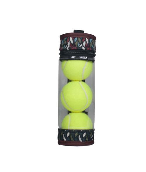 cinda b Autumn Night Tennis Ball Case