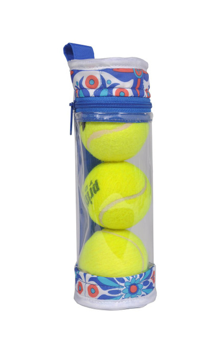 These durable cases fit right inside the outside pockets on your tennis bag, or you can hang them on your handle with the convenient snap on the back. A great gift for a tennis lover!