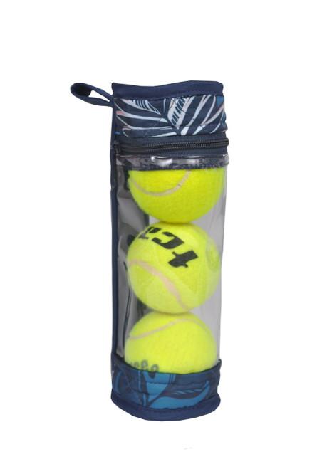 cinda b Tropicalia Tennis Ball Case