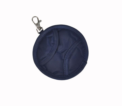 cinda b Midnight Calypso Tennis Ball Clip Pouch