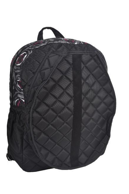 cinda b Rosalita Black Tennis Backpack