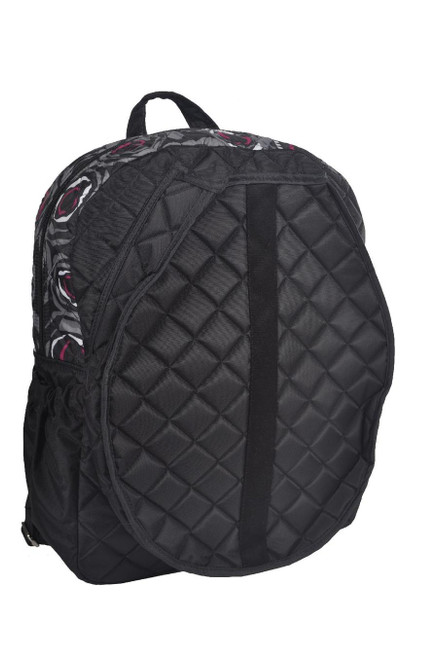 You've met your match! Haul and store all of your tennis gear in style, on and off the court, with this cinda b Rosalita Black Tennis Backpack - the best women's tennis backpack