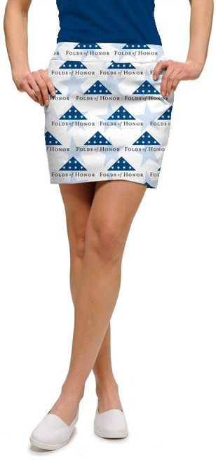 Loudmouth Stars of Honor StretchTech Women's Skort