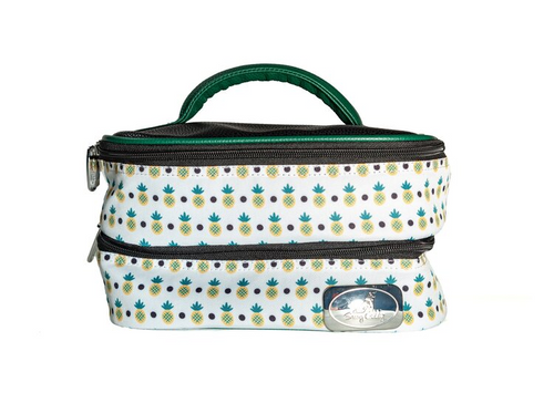 Sassy Caddy Key West Lunch Tote or Cosmetic Bag