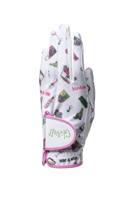 Glove It Nine and Wine Ladies Golf Glove