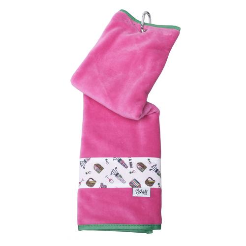 Glove It Nine and Wine Ladies Golf Towel