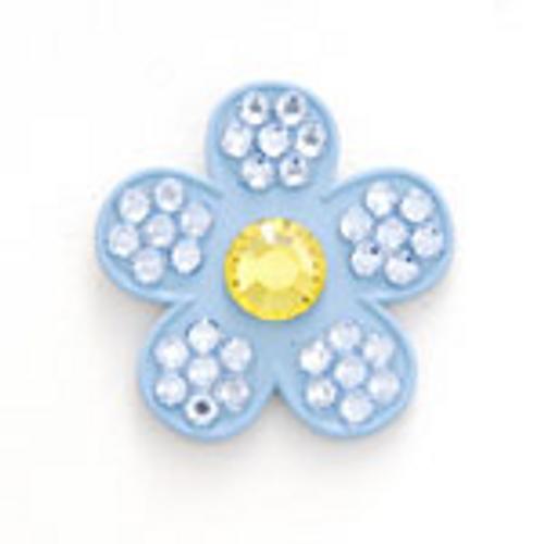Bonjoc Sky Flower Swarovski Crystal Ball Marker
