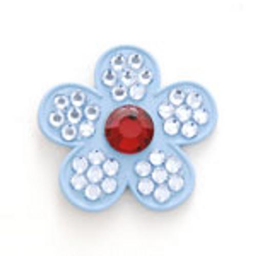 Bonjoc Iris Flower Swarovski Crystal Ball Marker