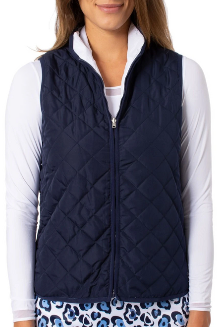 Golftini Navy / White Reversible Wind Vest