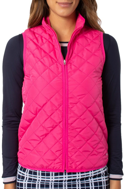 Golftini Hot Pink Wind Vest