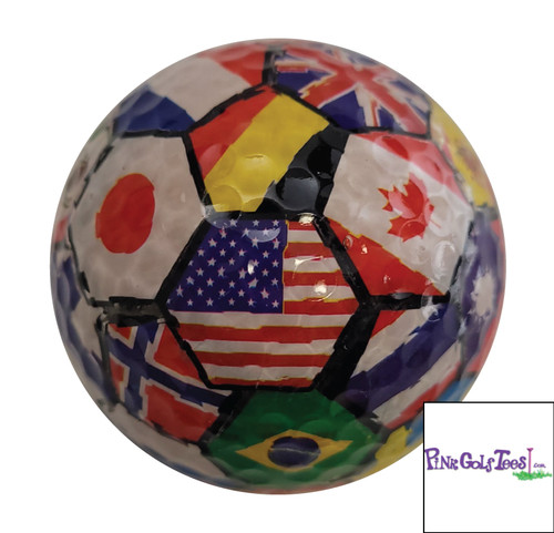 International Flag Golf Balls
