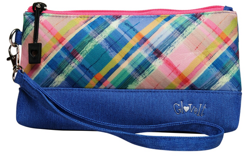Glove It Plaid Sorbet Wristlet