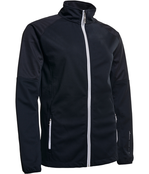 Abacus Sportswear Black Arden Softshell Jacket