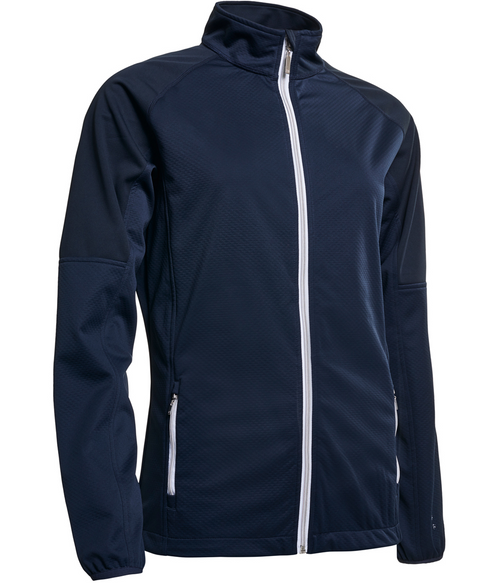 Abacus Sportswear Navy Arden Softshell Jacket