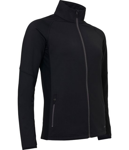 Abacus Sportswear Black Ashby Full-Zip With Pockets