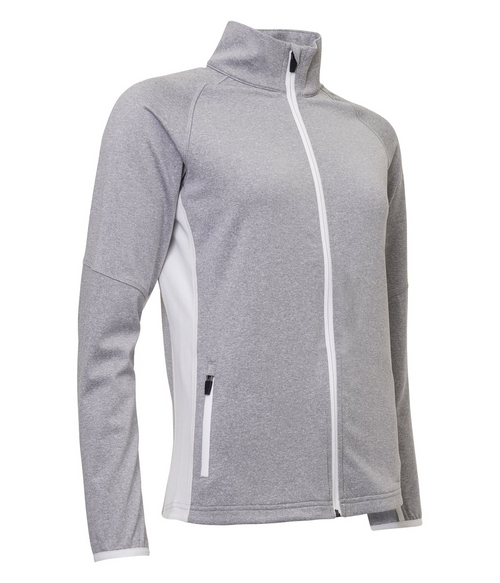 Abacus Sportswear Grey Ashby Full-Zip With Pockets