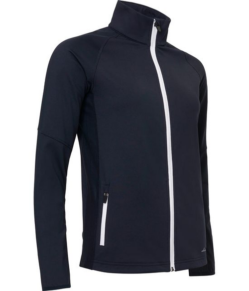 Abacus Sportswear Navy Ashby Full-Zip With Pockets