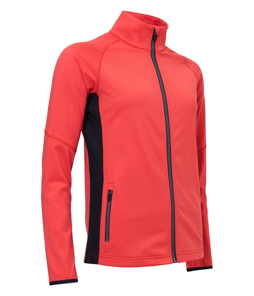Abacus Sportswear Poppy Red Ashby Full-Zip With Pockets