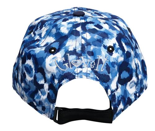 Glove It Blue Leopard Cap Hat