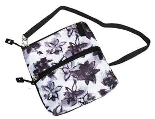 Glove It Graphite Flower Zip Golf Accessory Bag