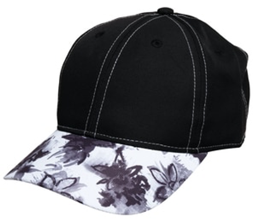 Glove It Graphite Flower Cap Hat