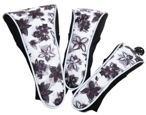 Glove It Graphite Flower Golf Club Cover Set
