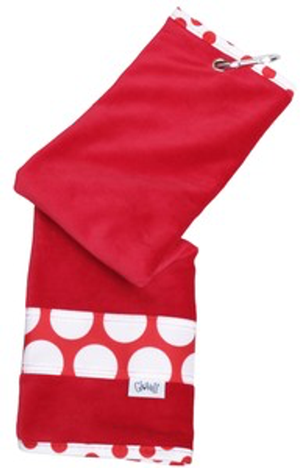 Glove It Ta Dot Ladies Golf Towel