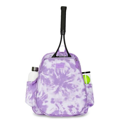 Ame & Lulu Game On Tennis Backpack - Lavender Tie Dye