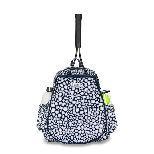 Ame & Lulu Game On Tennis Backpack - Navy Leopard