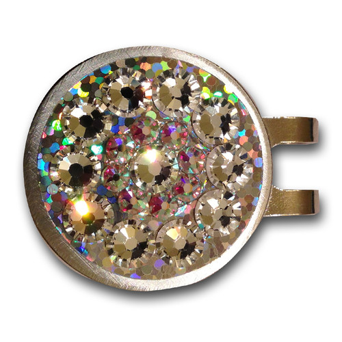 Blingo Crystal Glitter Ladies Golf Ball Marker
