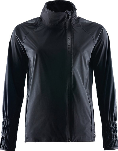 Abacus Sportswear Black Pitch Rain Jacket