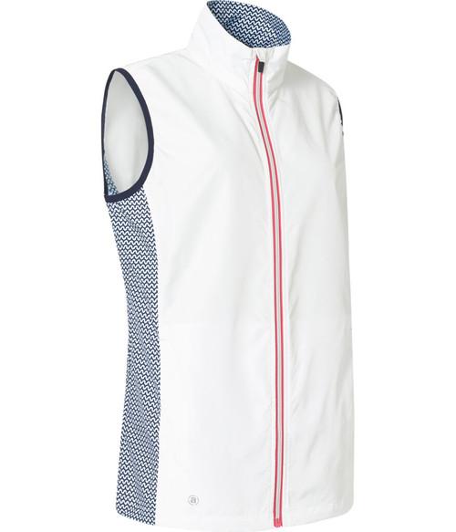 Abacus Sportswear Navy/White Ganton Windvest