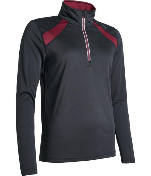 Abacus Sportswear Black Yale Longsleeve