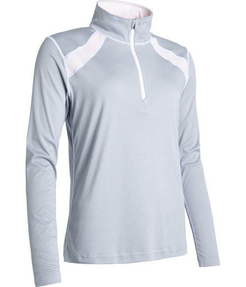 Abacus Sportswear Light Greymelange Yale Longsleeve