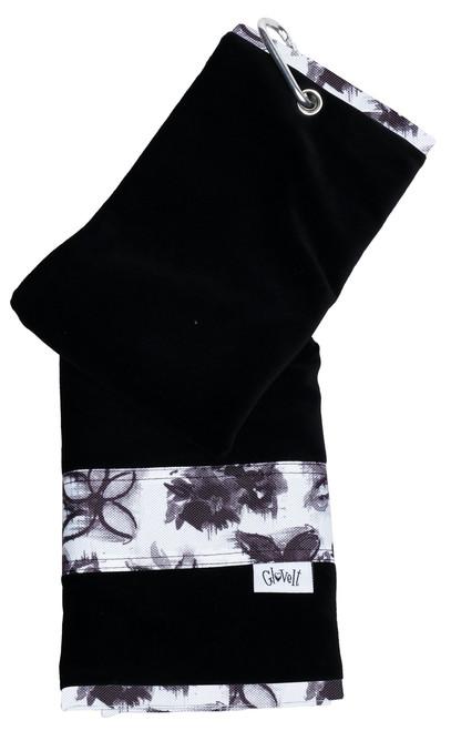Glove It Graphite Flower Towel