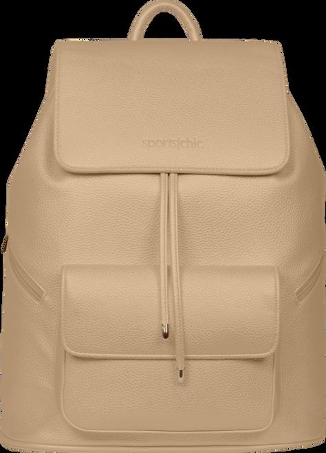 SportsChic Women's Vegan Maxi Backpack Coriander