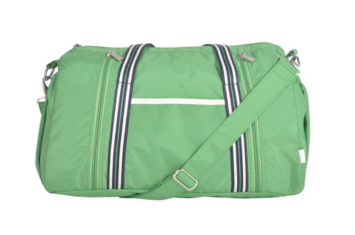 cinda b On The Go Gym Bag in Verde Bonita