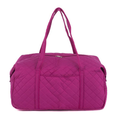 cinda b Vacationer Radical Rose  cinda b Vacationer Midnight Calypso is the perfect bag for vacations, weekend get away. Whether your itinerary is packed with many fun activities or you are just a hopeless over packer, this super-sized, large duffel bag is just for YOU!