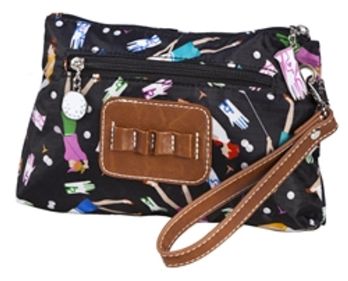 Sydney Love Lady Golfer Cosmetic Bag with Tee Holder
