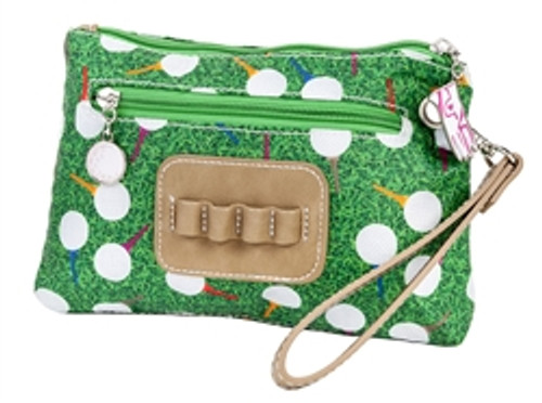 Sydney Love Teed Off Cosmetic Bag with Tee Holde