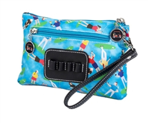 Sydney Love Match Play Golf Cosmetic Bag with Tee Holder