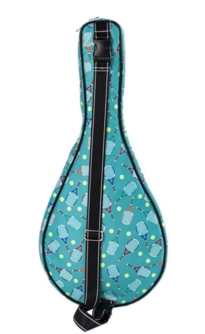 Sydney Love Serve It Up Tennis Racquet Bag-Turquoise